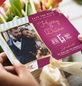 Wedding Invitation Card Design Template