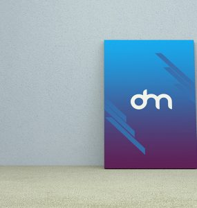 Wall Poster Mockup Template