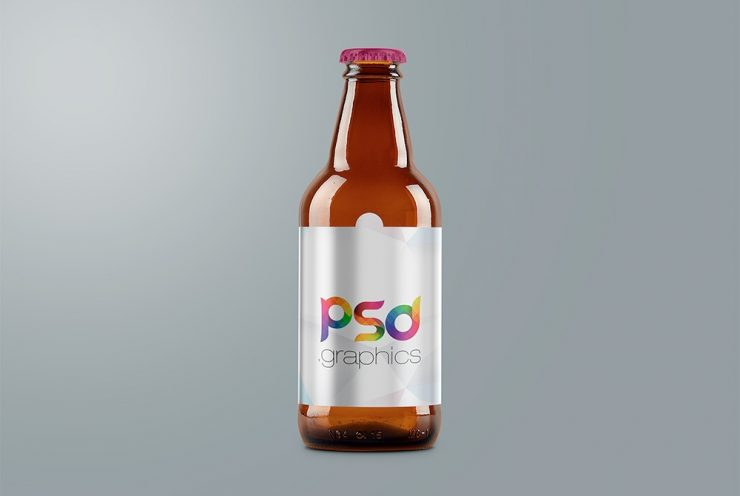 Beer Bottle Branding Mockup