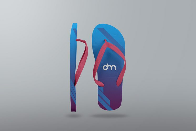 Flip Flop Mockup Template