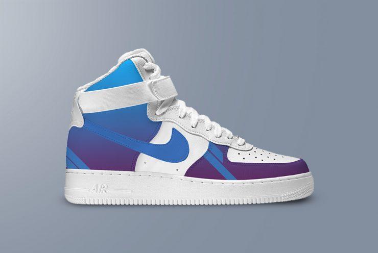 Nike Air Shoe Mockup PSD Template