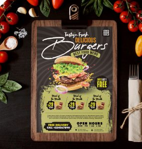 Free Restaurant Menu Design Template