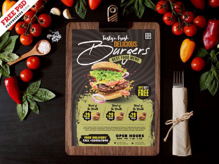 Free Restaurant Menu Design Template