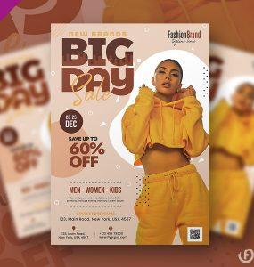Sale Flyer Template Design