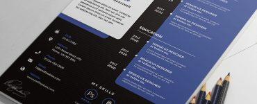 Designer Resume CV Design Template