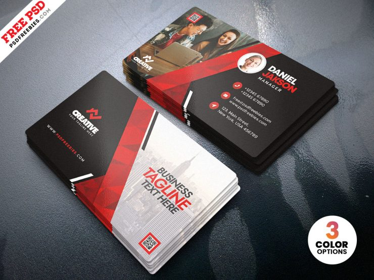 Creative Business Card Design Template