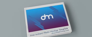 Instant Photo Mockup PSD Template