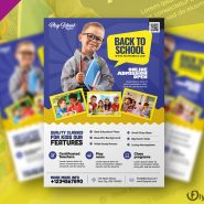 Kids School Flyer Template