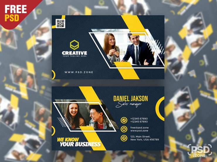 Premium Business Card Design Template
