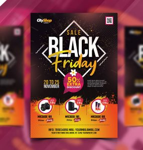 Best Black Friday Sale Flyer Template