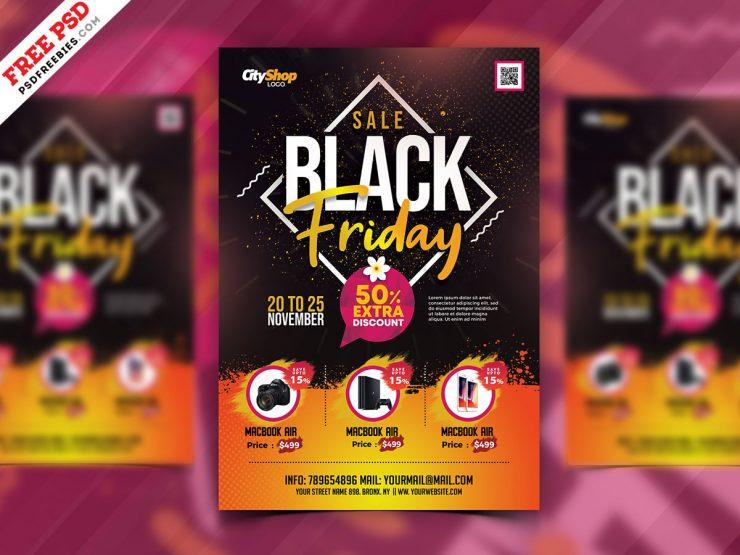 Best Black Friday Sale Flyer Template