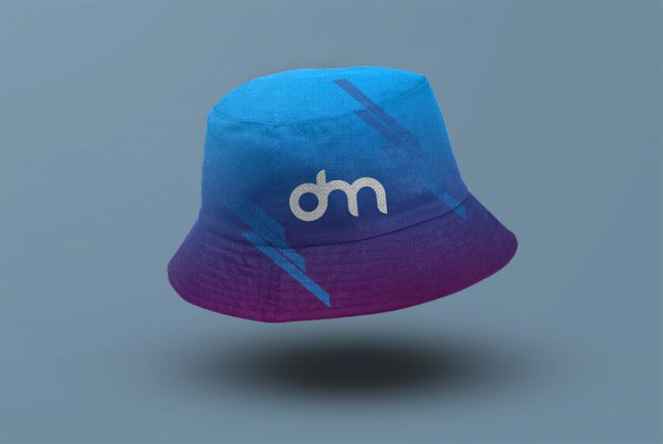Bucket Hat Mockup Template