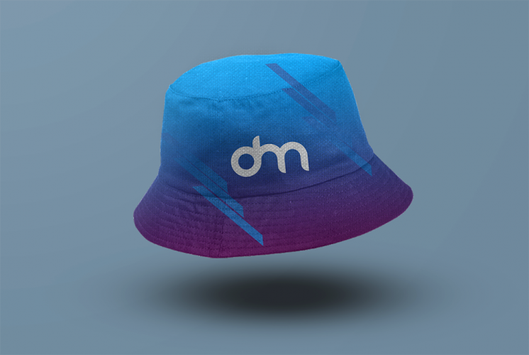 Bucket Hat Mockup Template