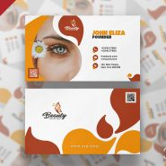 Spa & Beauty Salon Business Card Template