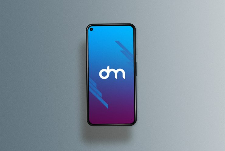 Android Smartphone Mockup Template