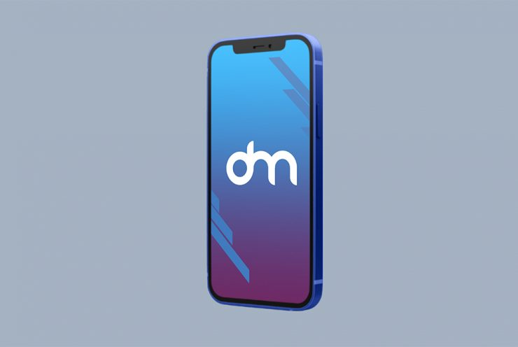 iPhone 12 Mini Mockup PSD