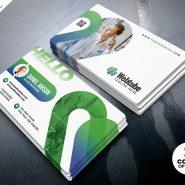 Minimal Corporate Business Card Template