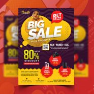 Special Season Sale Flyer Design Template