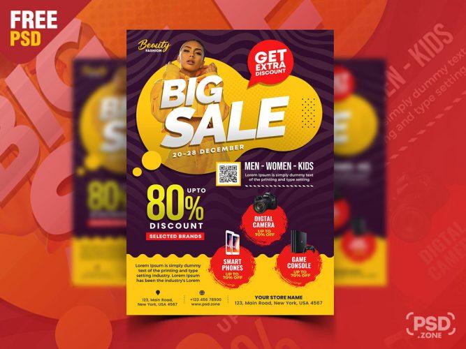 Special Season Sale Flyer Design Template