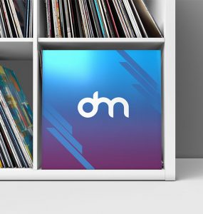 Vinyl Record Cover Mockup Template