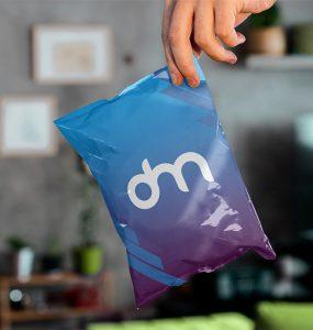 Chips Bag Packaging Mockup