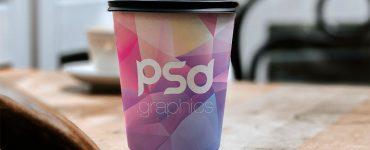 Free Paper Cup Branding Mockup
