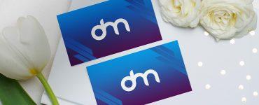 Beautiful Business Card Mockup Template