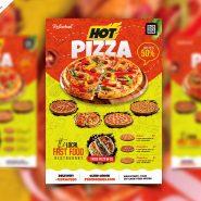 Pizza Shop Flyer Design Template