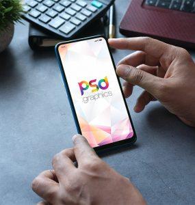 Free Smartphone Mockup Template PSD