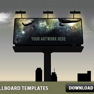 3 Billboard PSD Templates