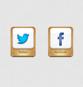 3D Shiny Twitter And Facebook Icons PSD Wooden, Web Resources, Web Elements, Twitter Icon, Twitter, Social Media Icons, Social Media, Social Icon, Social, Shiny, Resources, PSD Icons, Icons, Icon PSD, Icon, Free Icons, Free Icon, FB, Facebook, Elements, Bird, 3D,