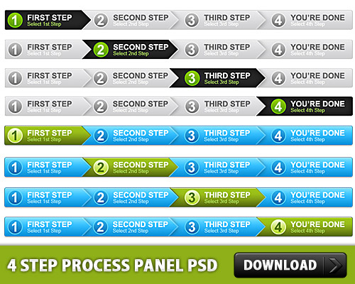 4 Step Process Panel Free PSD Web Resources Web Elements Step Bar Step SignUp Resources Psd Templates PSD Sources psd resources PSD images psd free download psd free PSD file psd download PSD Process Bar Process Panel Layered PSDs GUI Graphics Free PSD Elements download psd download free psd