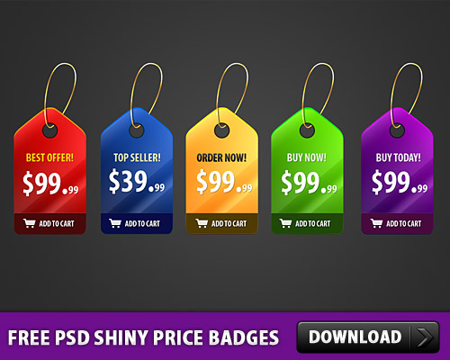 5 Free PSD Shiny Price Badges Tag Shopping Cart Shopping Shiny Sale Psd Templates PSD Sources psd resources PSD images psd free download psd free PSD file psd download PSD Price Tag Price Badges Price offer Layered PSDs Icon PSD Icon Free PSD Free Icons Free Icon download psd download free psd Customizable PSD Customizable Customised Custom Cart Badges
