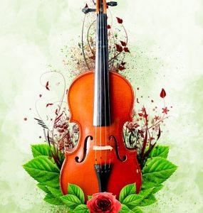 Abstract Floral Explosion Free PSD Violin, Rose, Psd Templates, PSD Sources, psd resources, PSD images, psd free download, psd free, PSD file, psd download, PSD, Photo Manipulation, Nature, Music, Leaves, Layered PSD, Graphics, Free PSD, Flower, Floral, download psd, download free psd, Abstract,