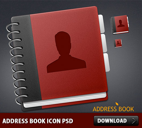 Address Book Icon PSD Web Resources User Resources Psd Templates PSD Sources psd resources PSD images psd free download psd free PSD file psd download PSD NoteBook Layered PSDs Icon PSD Icon Free PSD Free Icons Free Icon Editable PSD Editable download psd download free psd Contacts Contact Icon Book Address Book Address