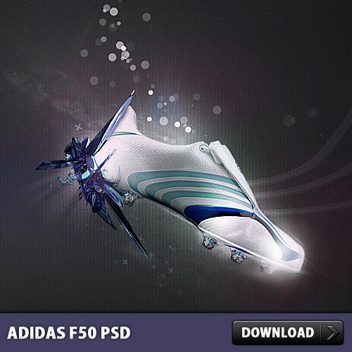 Adidas F50 Free PSD file Shoes Psd Templates PSD Sources psd resources PSD images psd free download psd free PSD file psd download PSD Photo Manipulation Layered PSDs Free PSD download psd download free psd Advertising Adidas Abstract