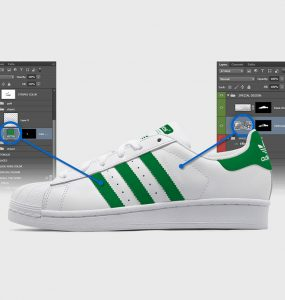 Adidas Superstar Shoes Mockup Free PSD