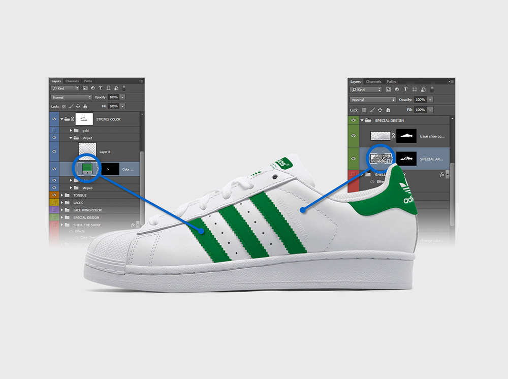 Adidas Shoe Modify