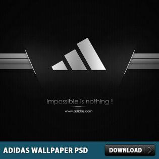 Adidas Wallpaper PSD File