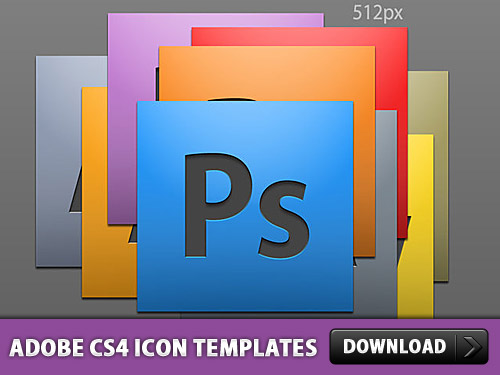 Adobe CS4 Icon PSD Templates Psd Templates, PSD Sources, psd resources, PSD images, psd free download, psd free, PSD file, psd download, PSD, Layered PSDs, Icons, Icon, Free PSD, download psd, download free psd, CS4, Application, Adobe,