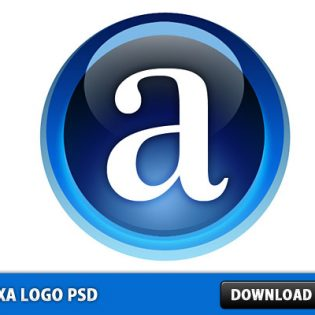Alexa logo Free PSD