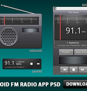 Android FM Radio Application PSD Speakers, Sound, Radio, Psd Templates, PSD Sources, psd resources, PSD images, psd free download, psd free, PSD file, psd download, PSD, PNG Icons, Objects, Music, Layered PSDs, Icons, Icon, Free PSD, FM, download psd, download free psd, Application, App Icons, App, Android,