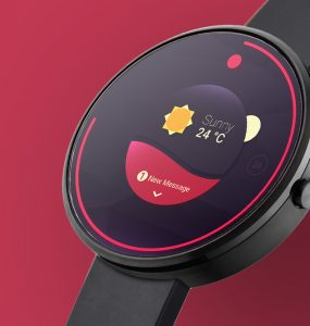 Android Wear Smartwatch Mockup Free PSD