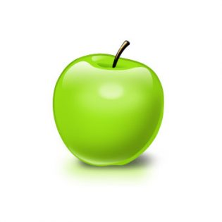 Free PSD Apple