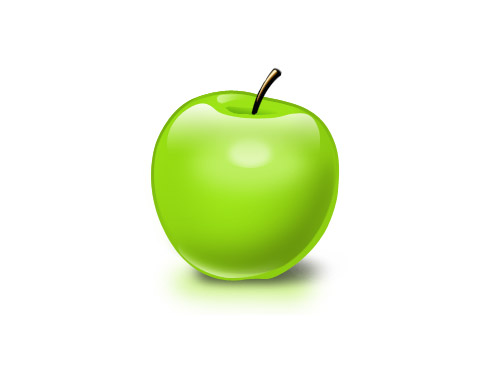 Free PSD Apple PSD Objects Layered PSDs Fruits Food