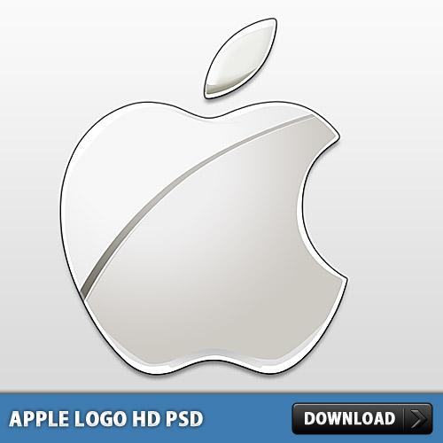 Apple Logo PSD File