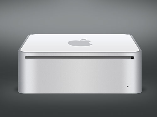 Apple Mac Mini PSD PSD, Portable, Objects, Mini, Mac Mini, Mac, Layered PSDs, Icons, Computer, Apple, 3D,
