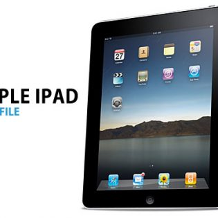 Apple iPad PSD