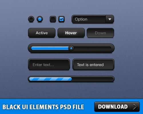 Black UI Elements Free PSD File Web User Interface, Web Resources, Web Elements, Web Design Elements, User Interface, UI, Search Bar, Resources, Radio Buttons, Psd Templates, PSD Sources, psd resources, PSD images, psd free download, psd free, PSD file, psd download, PSD, Progress Bar, Layered PSDs, GUI, Graphical User Interface, Free PSD, Elements, Drop Down Menu, Drop Down, download psd, download free psd, Check Boxes, Buttons, Button, Black,