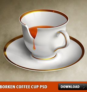 Borken Coffee Cup PSD Tea, Psd Templates, PSD Sources, psd resources, PSD images, psd free download, psd free, PSD file, psd download, PSD, Objects, Layered PSDs, Kitchen, Icon PSD, Icon, Free PSD, Free Icons, Free Icon, Drink, download psd, download free psd, Cup, Coffee, Broken,